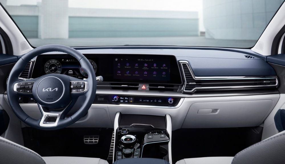 Kia Sportage 2022: this is its interior.