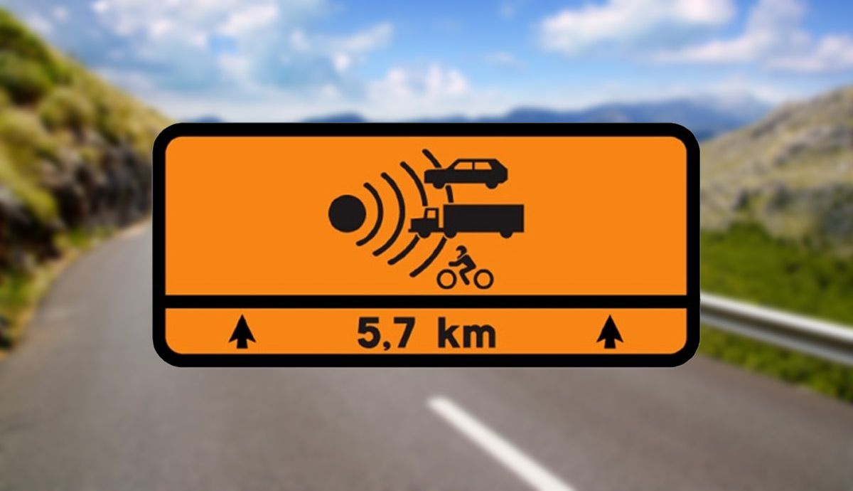 New traffic sign on secondary roads.  What does it mean?