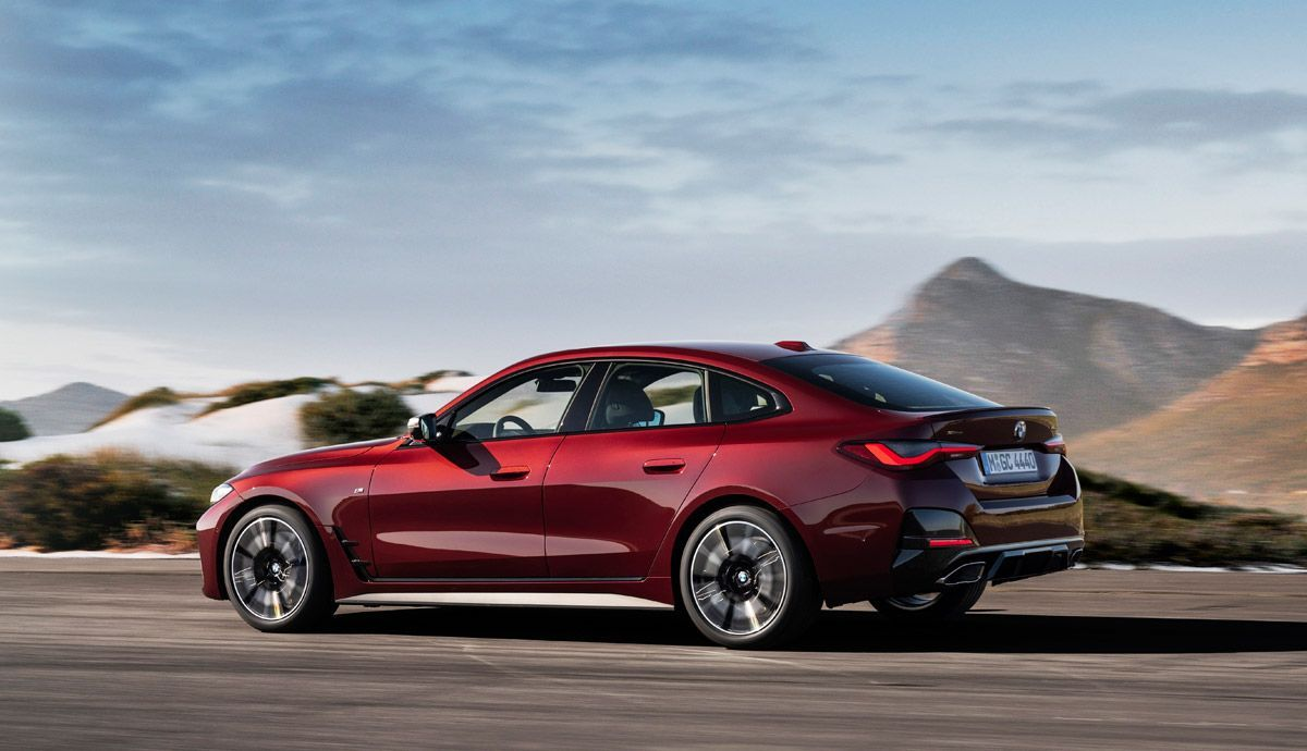 The new BMW M440i xDrive Gran Coupe.