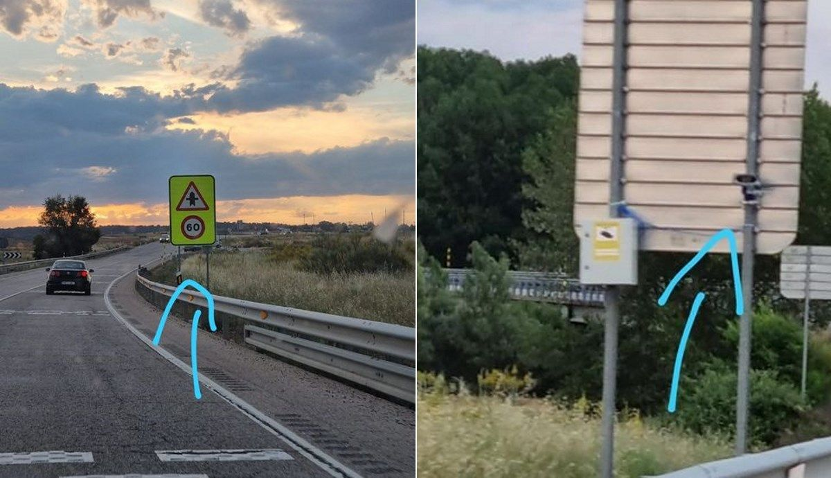 They confuse the new license plate readers with radars: what they already control and why they also fine.  Source: SocialDrive.
