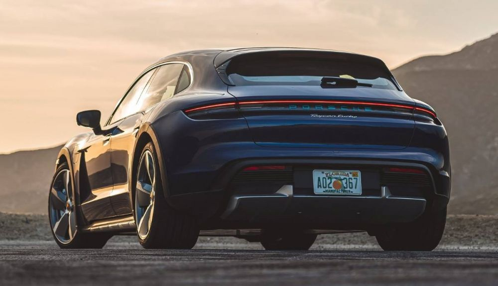 Porsche Taycan Cross Turismo Turbo