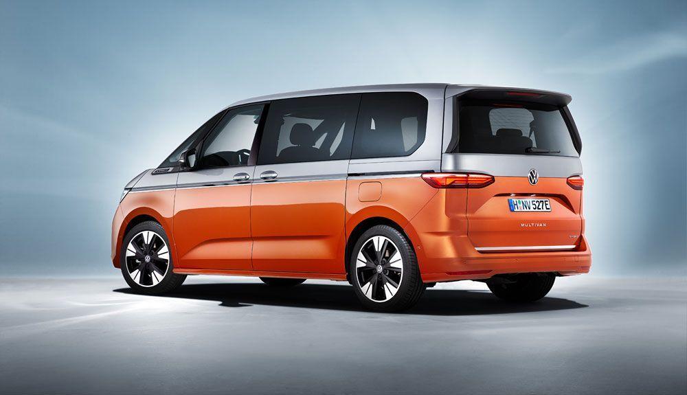 The VW Multivan has LED headlights as standard