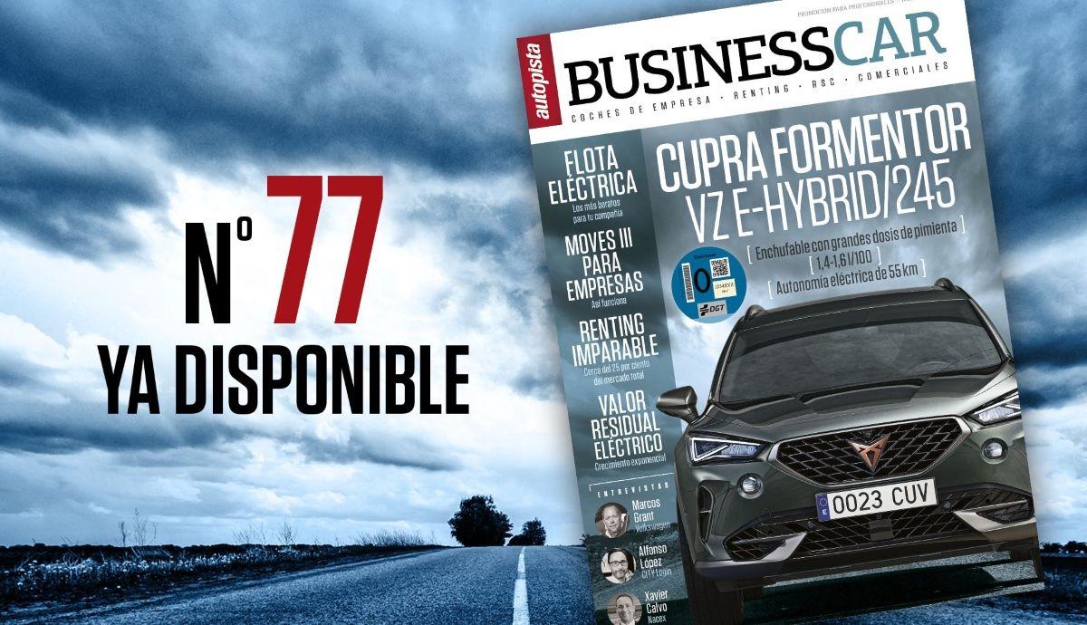 Ya está disponible el número 77 de Business Car, descárgatelo gratis