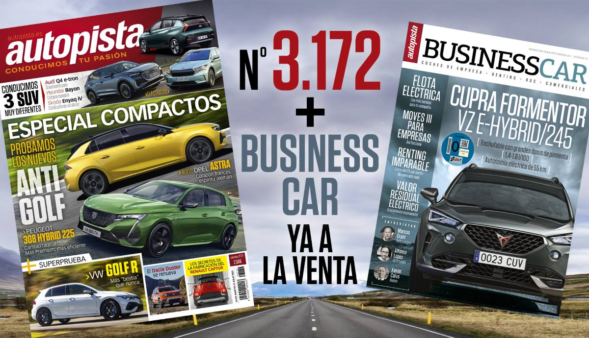 Ya a la venta el número 3172 de la Revista Autopista junto con Business Car nº77