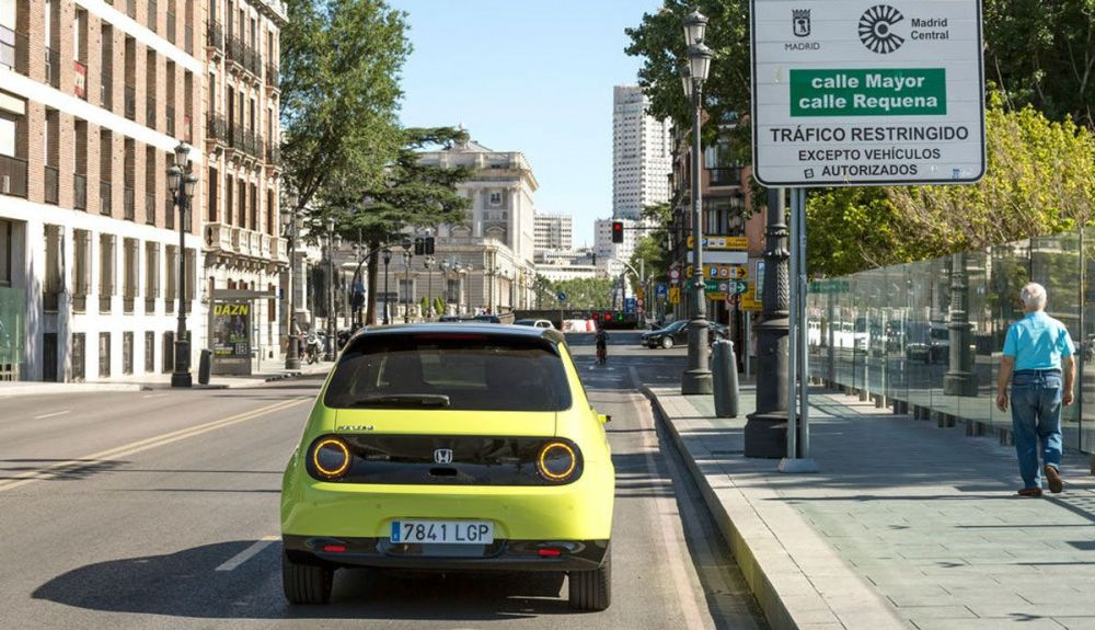 Madrid will give aid of up to 9,000 euros for the purchase of electric cars