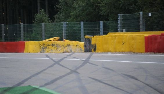 This is how Raidillon was in 2016 when Magnussen crashed