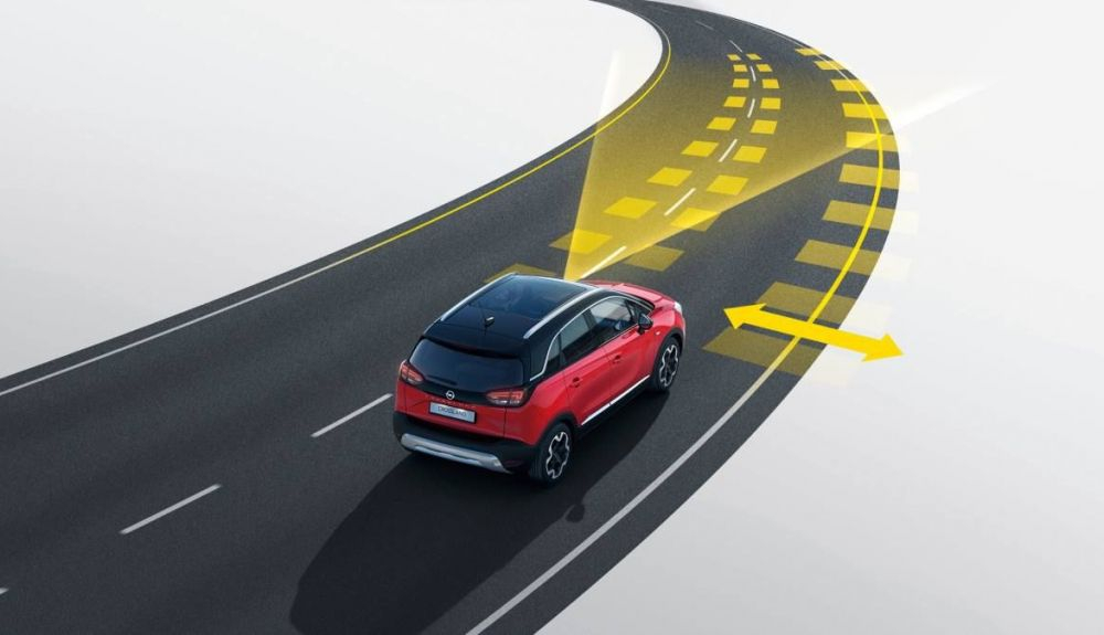 Opel Crossland mantenimiento carril