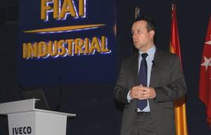 El director de la planta de Madrid Ángel Rodríguez