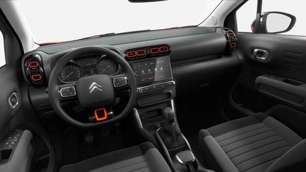 Interior Citroën C3 Aircross serie limitada