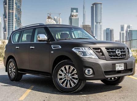 Nissan Patrol 2014 Black Especial Edition