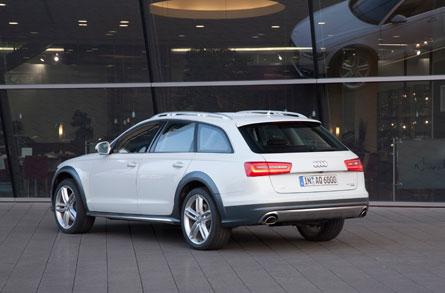Audi A6 allroad, para Carles Puyol