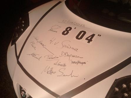 Alfa Romeo 4C récord en Nürburgring
