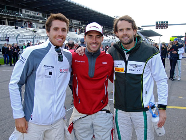 Dani Juncadella, Miguel Molina y Andy Soucek