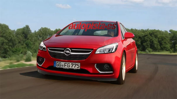 "Opel Astra k 2016 ""imagenes"" tres variantes del modelo - Página 6 Astra2015"