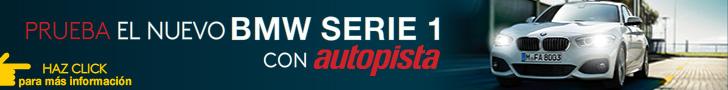 Prueba con AUTOPISTA un BMW Serie 1