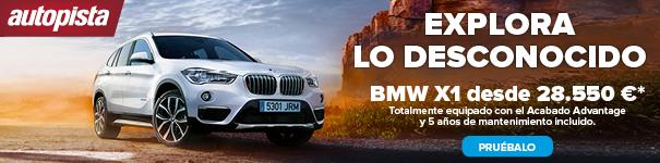 Prueba un BMW X1