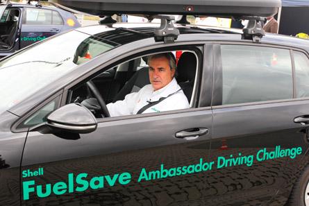 Carlos Sainz, imagen de Shell FuelSave