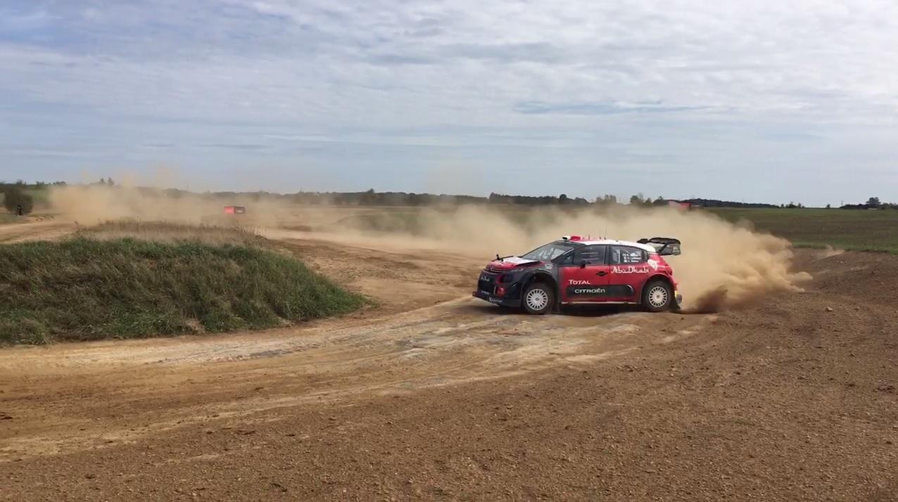 Copilotamos el Citroën C3 WRC con Kris Meeke