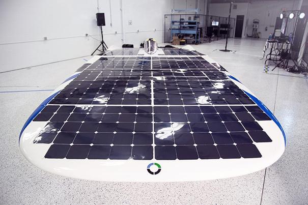 Dawn, el coche solar
