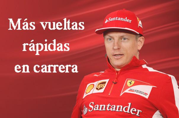 Estadísticas: Kimi Räikkönen