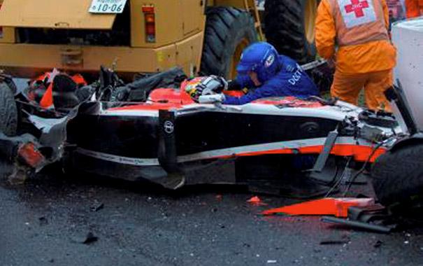 Accidente Jules Bianchi en Suzuka