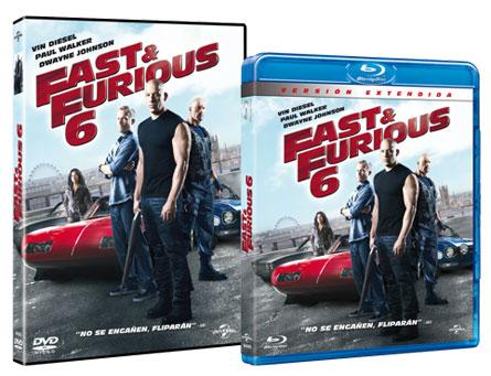 Fast & Furious en DVD y Blu-ray
