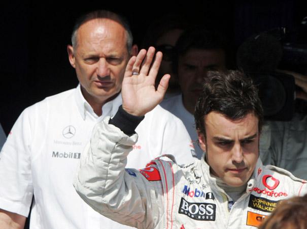 Fernando Alonso en McLaren (GP  Hungría 2007)