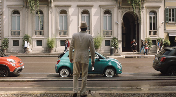 "Cortometraje ""See you in the future"" del Fiat 500"