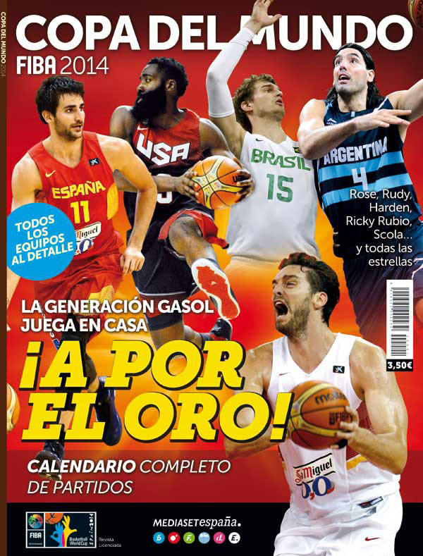 Guia Mundial de Baloncesto 2014