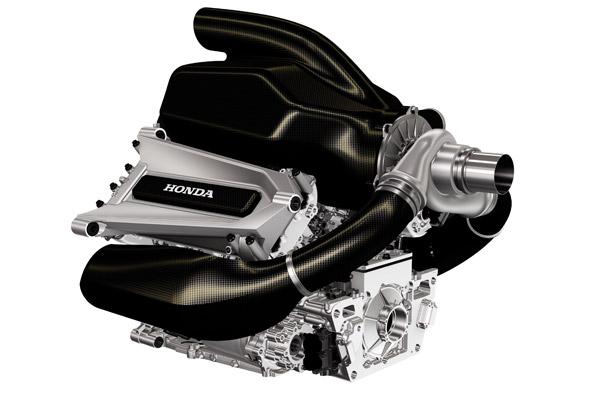 Primera imagen del motor Honda de Fórmula 1