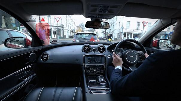 Jaguar Land Rover '360 Virtual Urban Windscreen'