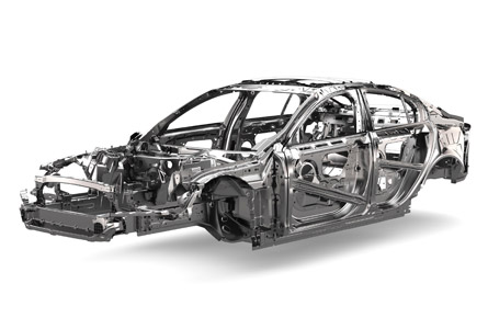 Jaguar XE monocasco de aluminio