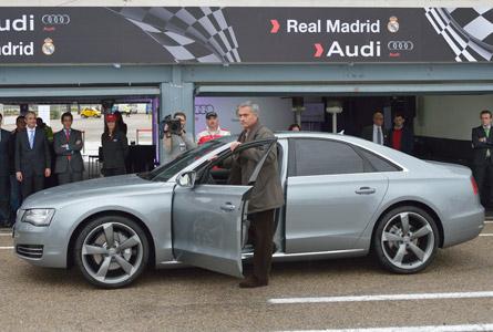 Entrega de coches Audi Real Madrid 2012/13