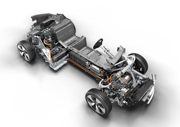 Mecánica BMW i8