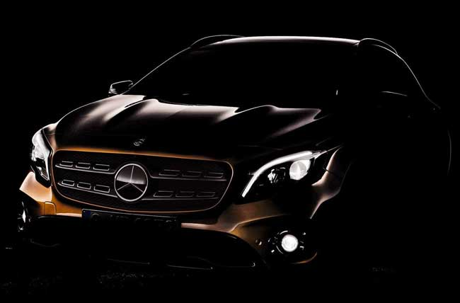 Mercedes GLA 2017 teaser