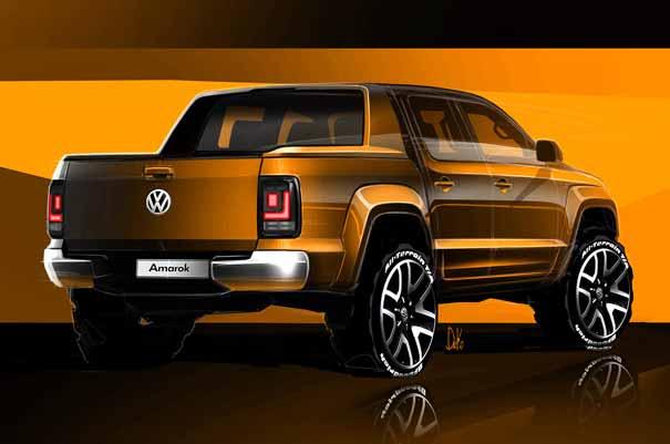 VW Amarok 2016 trasera