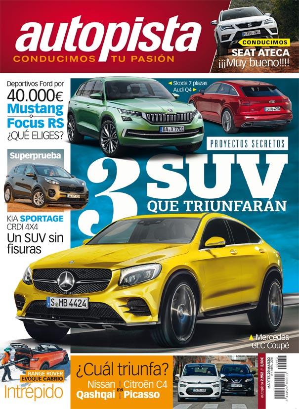 Revista Autopista número 2.952: 3 SUV que triunfarán