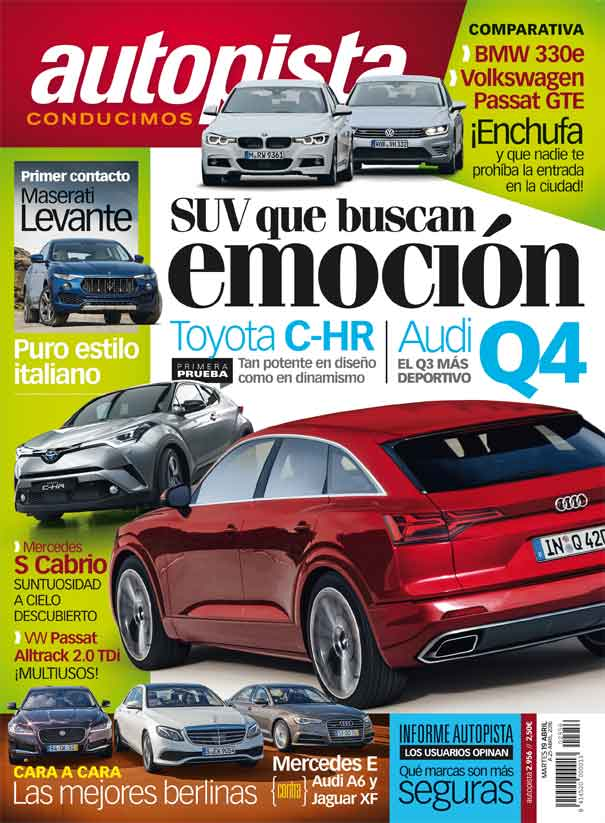 Revista Autopista 2956: BMW 330E vs VW Passat GTE
