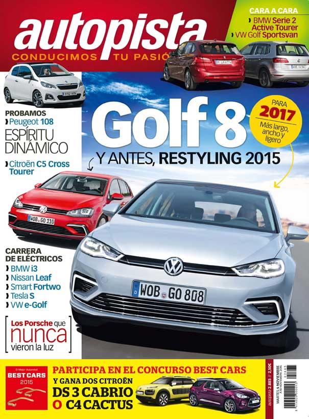 Autopista 2.885: contenidos y sumario de la revista
