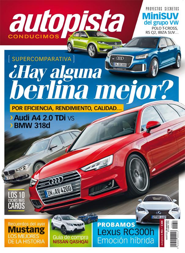 Revista Autopista número 2.953: Audi A4 Avant vs. BMW 318d Touring