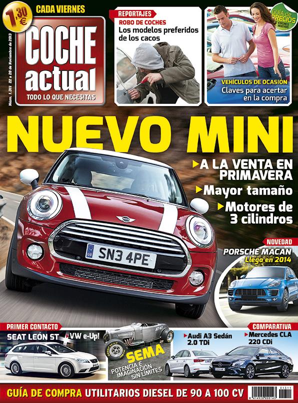 Portada Revista Coche Actual 1311