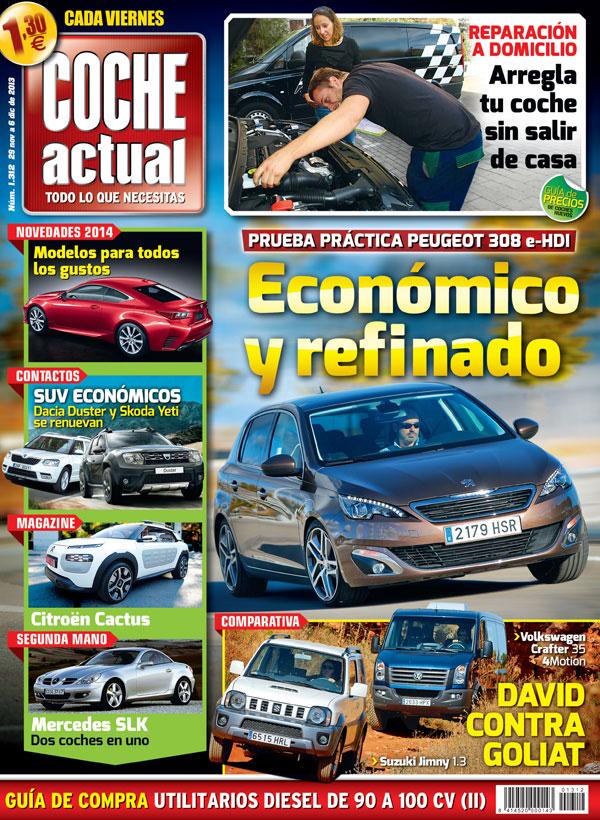Portada Revista Coche Actual número 1312