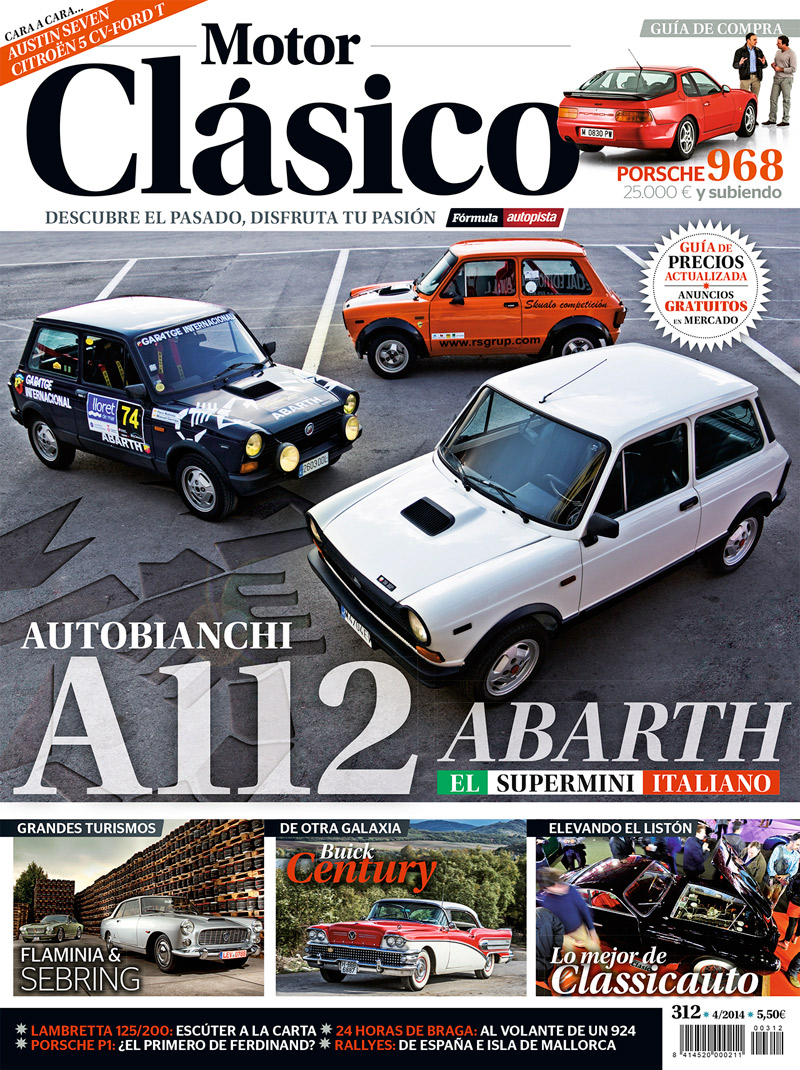 Portada Motor Clásico 312