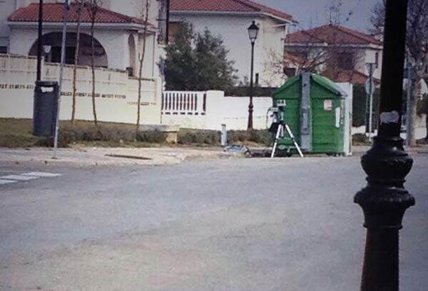 Radar basura urbanización