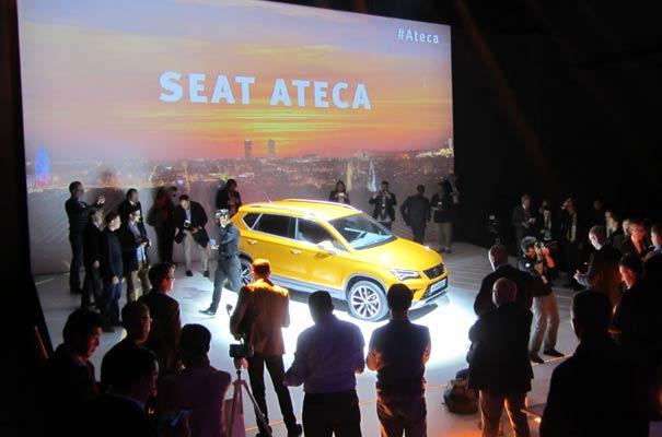 Presentación nuevo Seat Ateca