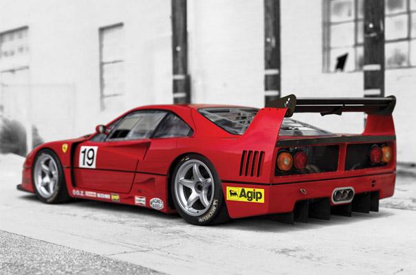 Ferrari F40 LM (1994).