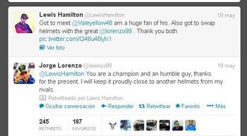 Twitter Lewis Hamilton