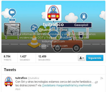 Twitter Tuitrafico