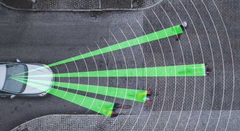 Sistema detección bicicletas Volvo
