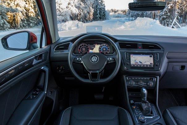 Volkswagen Tiguan 2016 interior